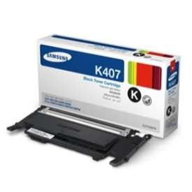 Original Samsung CLT-K407S toner cartridge - black