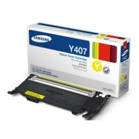 Original Samsung CLT-Y407S toner cartridge - yellow